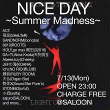 713(月)NICE DAY@SALOON_n